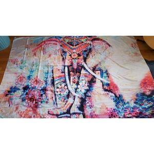 Bohemian Elephant Wall Tapestry